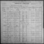 1900-OK Census, Judson, Logan Township, Blaine Co, OK