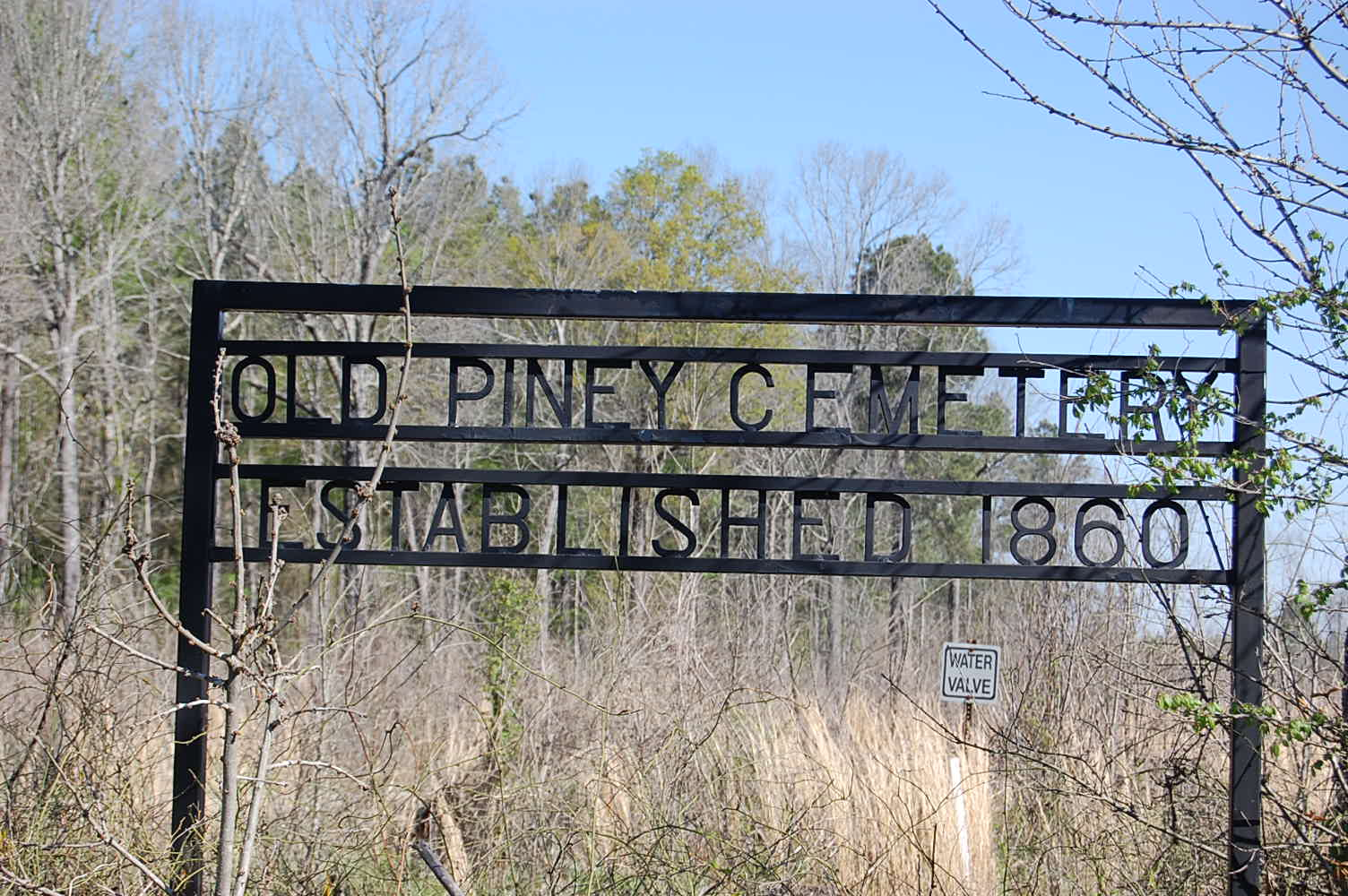 Old Piney Cemetery