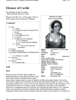 Eleanor of Castile (PDF Wiki)