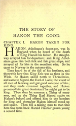 Heimsrkingla - The Story of Hakon 'the Good' Haraldsson (2.3MB PDF)