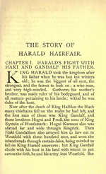 Heimsrkingla - The Story of Harald 'Fair Hair' Halfdansson (2.7MB PDF)