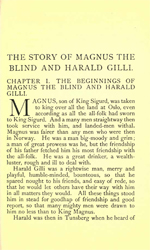 Heimskringla - The Story of Magnus the Blind and Harald Gille (1.6MB PDF)