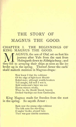 Heimskringla - The Story of Magnus the Good Olafsson (2.4MB PDF)