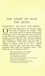 Heimskringla - The Story of Olaf the Quiet (614KB PDF)