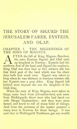 Heimskringla - The Story of Sigurd the Jerusalem-Farer, Eystein and Olaf (3MB PDF)